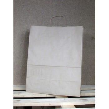 Torba papierowa eko 34x33x20 cm uchwyt papierowy skręcany